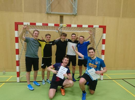 3AHMBA gewinnt das Maschinenbau-Fußballturnier