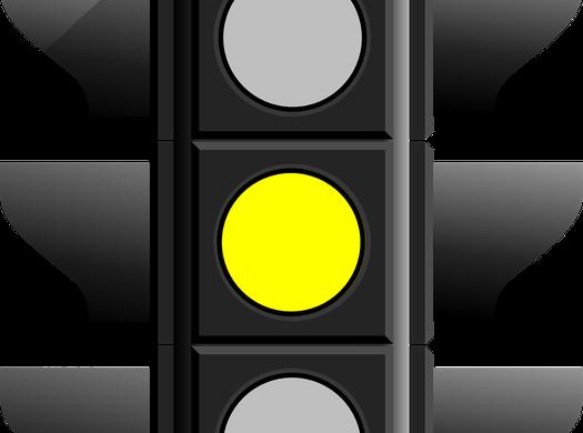 Ampelfarbe: gelb