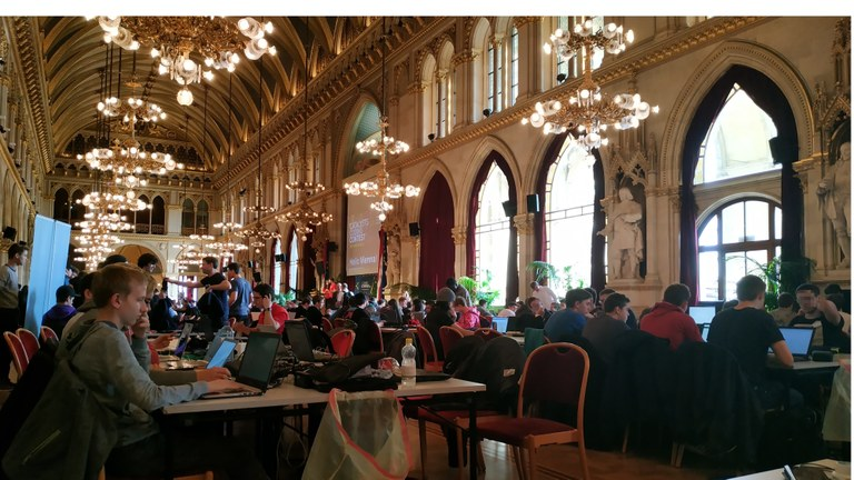 Catalyst Coding Contest im Wiener Rathaus