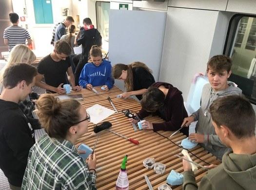 Einblick ins Industriedesign-Labor