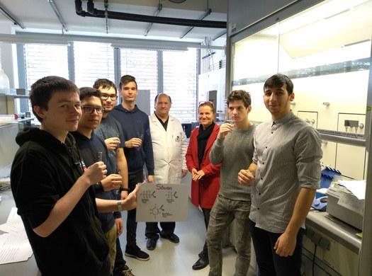Elektrotechnik besucht FH für Biotechnologie