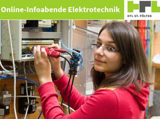 Elektrotechnik  - Infoabend am 22. Dezember!