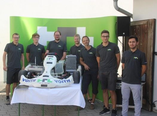 ET-Racing TEAM - Mit maximalem Drehmoment ins neue Schuljahr!