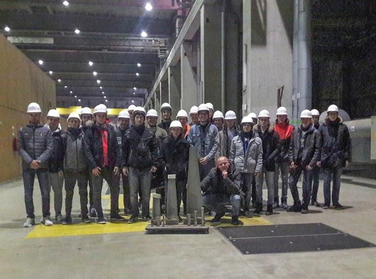 Exkursion Kraftwerk Dürnrohr