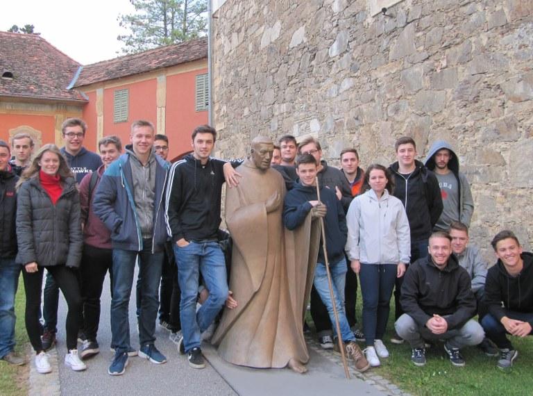 Exkursion nach Güssing und Hartberg mit der 5AHET
