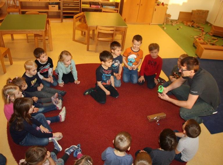 Forschung beginnt im Kindergarten!