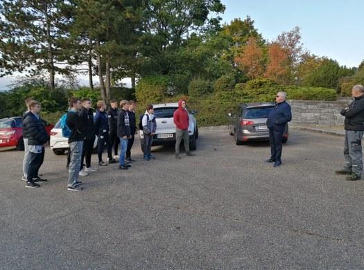 HTL – Schüler pflegen Soldatenfriedhof in Oberwölbling