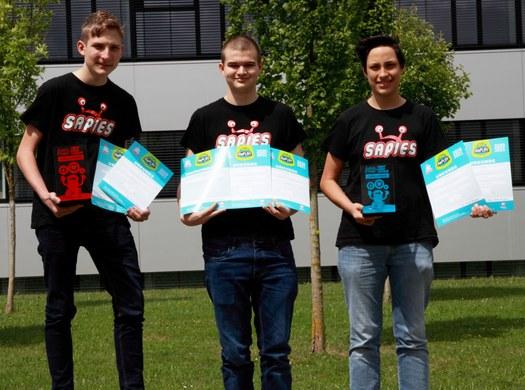 IF- und MB-Schüler erfolgreich auf der 1st Lego League Challenge!