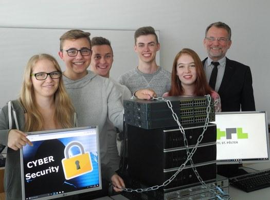 Informatik-Abteilung: neuer Ausbildungsschwerpunkt - CYBER-SECURITY!