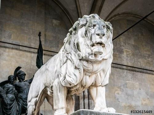 Löwe, Odeonsplatz