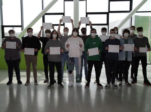 Erfolgreiche JAVA-Zertifizierungen für Informatik-Schüler!