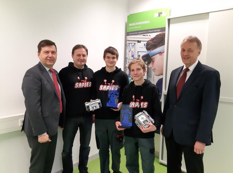 Junge Maschinenbauer holen Staatsmeistertitel