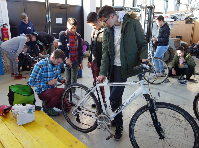 "Klimabündnis-Radworkshop ""Bike Checker"""