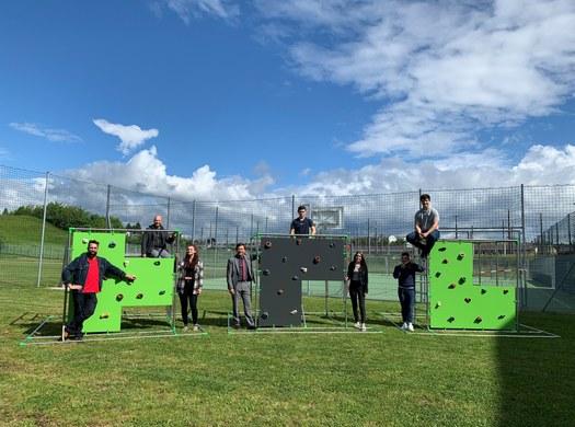 Maschinenbau-Diplomandinnen designen Motorik-Fitness-Cubes