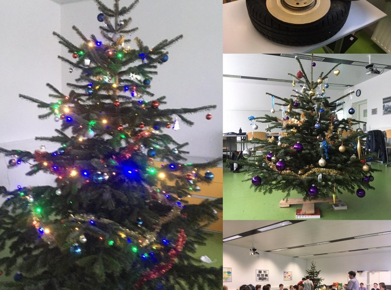 Maschinenbau-Weihnacht