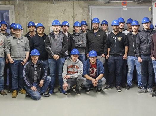 Maschinenbauer bei Verbund Kraftwerk