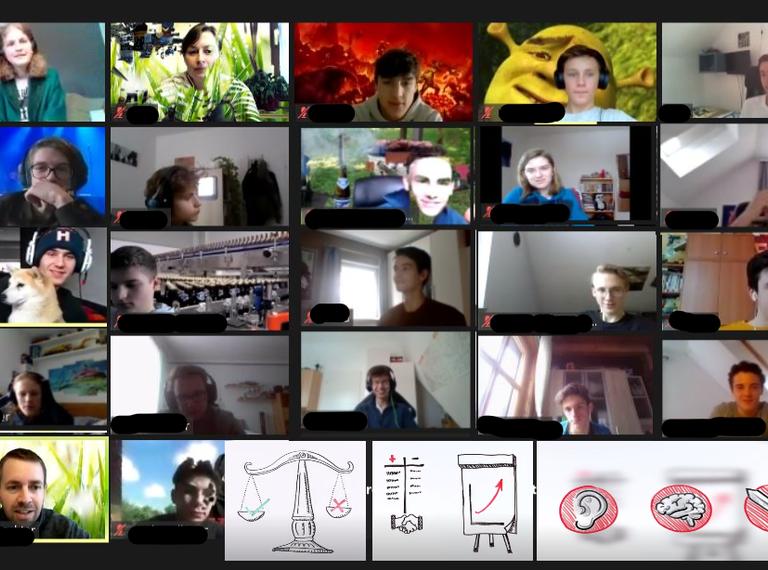 Maschinenbauer*innen lernen auch online Gesprächskultur