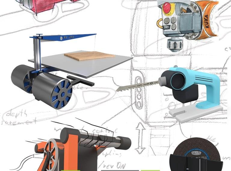 Maschinenbauingenieure/-ingenieurinnen bauen Maschinen...