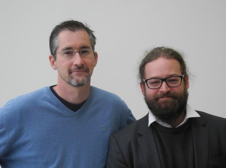 Neue Kollegen an der Informatik-Abteilung