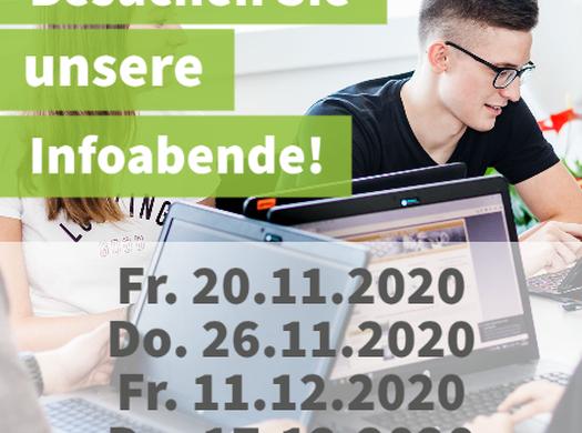 Online-Infoveranstaltungen der Informatik-Abteilung/Cyber-Security!