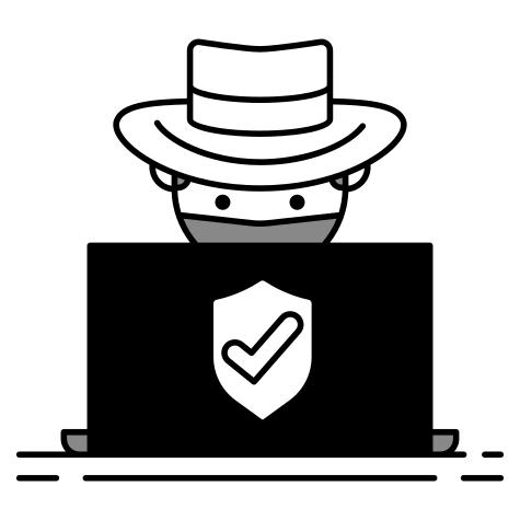 Symbolbild unserer White-Hat-Hacker beim Wettkampf :)