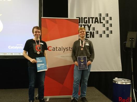 Schüler der Informatik-Abteilung erfolgreich am Catalysts Coding Contest