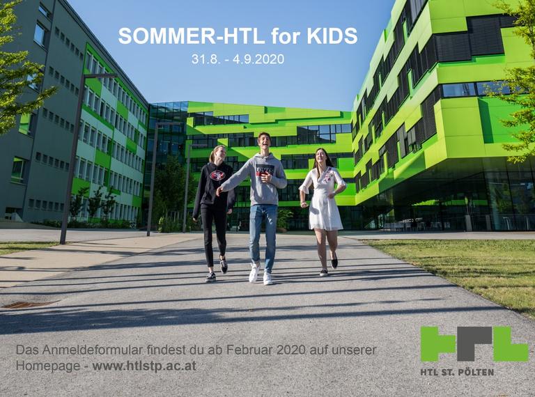 Sommer-HTL for KIDS 2020 > ANMELDUNG