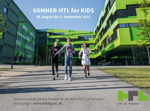 Sommer-HTL for KIDS 2021 > ANMELDUNG