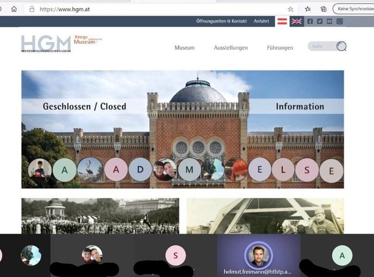 Wirtschaftsingenieure: Virtueller Besuch im Heeresgeschichtlichen Museum