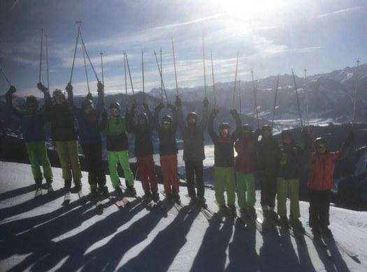 Wintersport- und Projektwoche des 3. Jahrgangs Maschinenbau