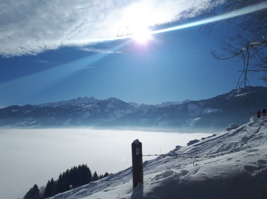 Wintersportwoche der Abteilung Elektrotechnik in Zell/See